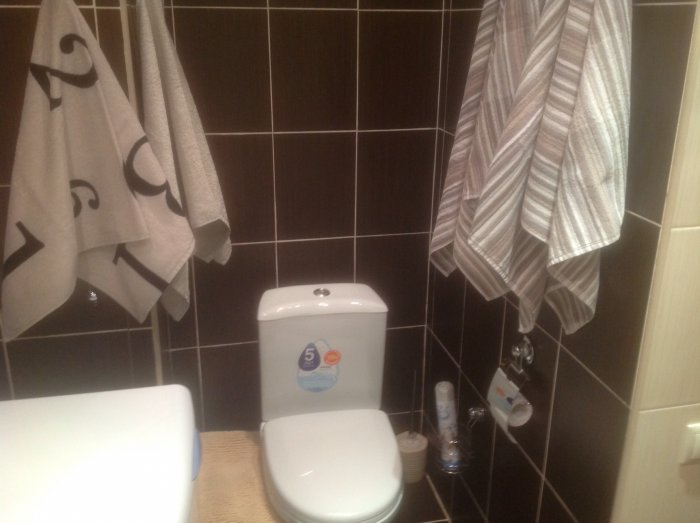 Наш первый ремонт. Ванная