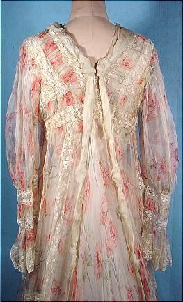 Старинные женские халаты для утреннего чая. Начало XX века. История моды