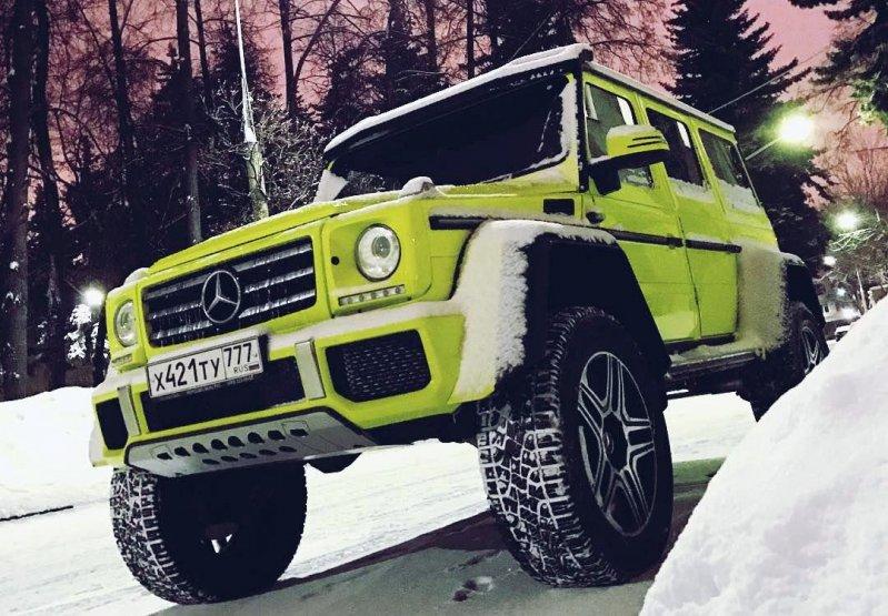 """Mercedes-Benz G500 4×4 Squared - """"Такой автомобиль с завода не выходил"""""""