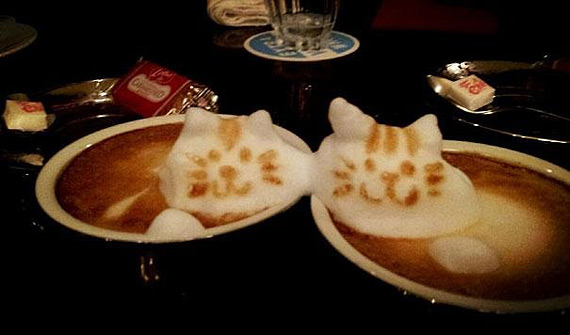 Кофейный арт Казуки Ямамото 53331