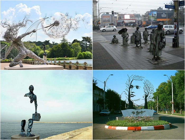 30 самых оригинальных статуй и скульптур со всего мира