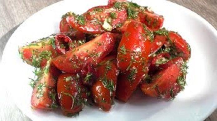 Вкуснейшие острые помидоры
