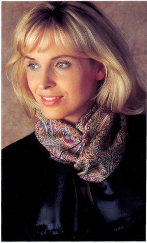 Так повязывают шарфы