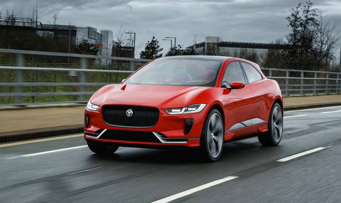 Jaguar I-Pace: английский ответ Tesla
