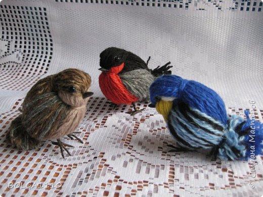 Маленькая птичка своими руками 99