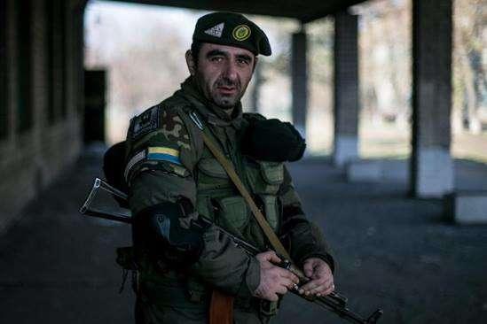 На Донбассе погиб грузинский боевик «АТО» из «Азова»