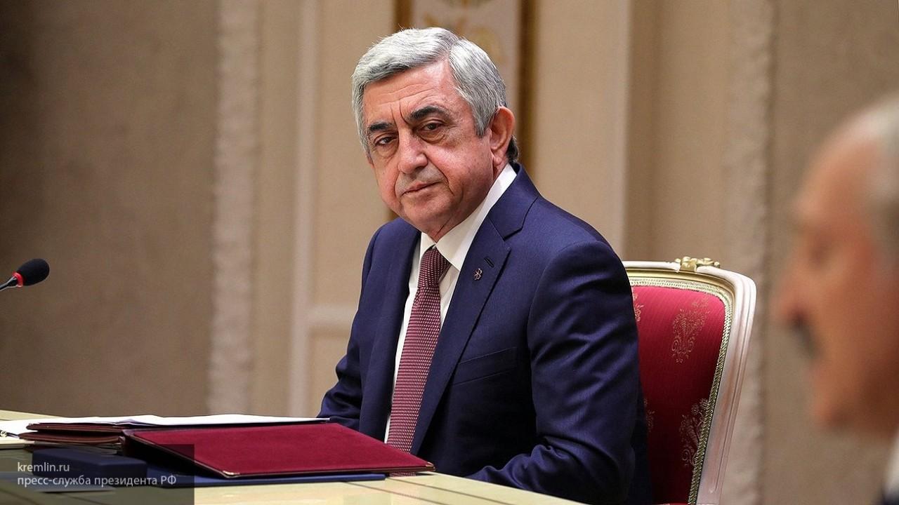 Серж Саргсян досрочно покинул переговоры с лидером оппозиции Армении