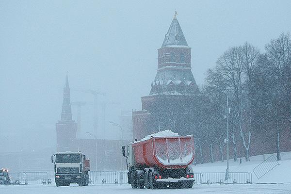 В Москве снова ожидается резкое похолодание