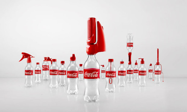 Вторая жизнь бутылок Coca-Cola