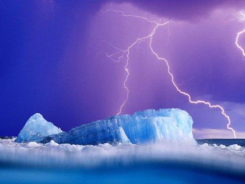 Изумительная красота айсбергов.