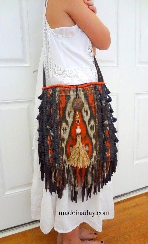 Элегантные сумки на лето в стиле бохо