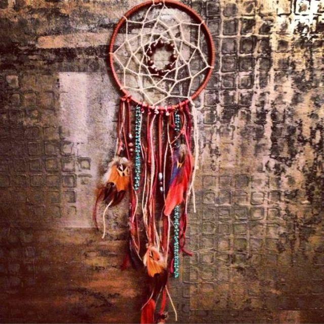 Ловец снов индейский талисман своими руками