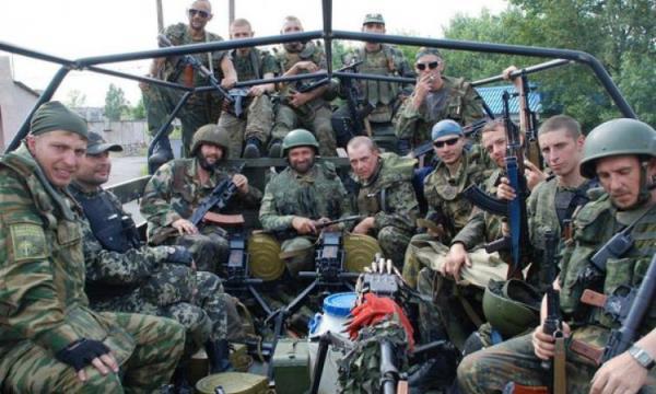 Рота украинских военнослужащих сдалась в плен армии ДНР