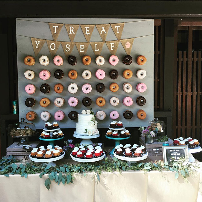 Donut Walls Is The Newest Wedding Trend That Will Make Your Day Truly Unforgettable