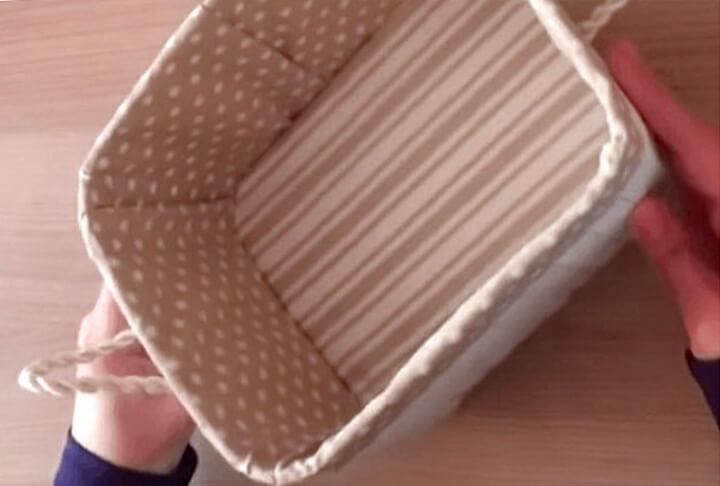 корзинка из канистры