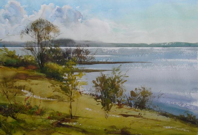 Ибряев Илья. Акварель