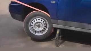 Как завести машину буксировочным тросом, без буксировки?
