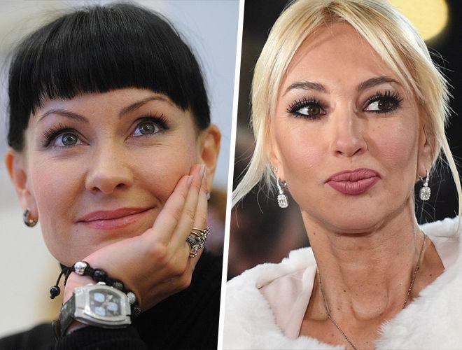 Нонна Гришаева и Лера Кудрявцева фото