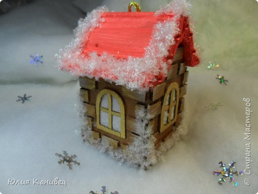 Новогодний снежок . Легко делаем сами!!!