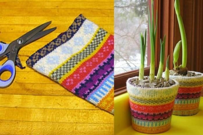 5 шедевров из старого свитера