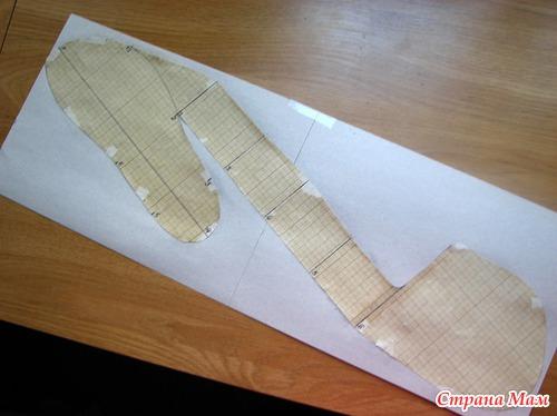 Как сделать мокасины