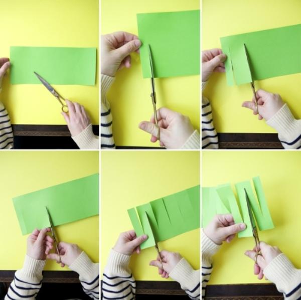 Как сделать простую гирлянду своими руками из бумаги