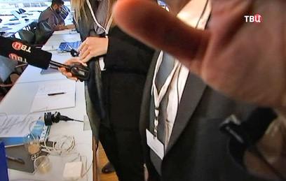 """Зеппельт позвал охрану после разговора с корреспондентом """"ТВ Центра"""""""
