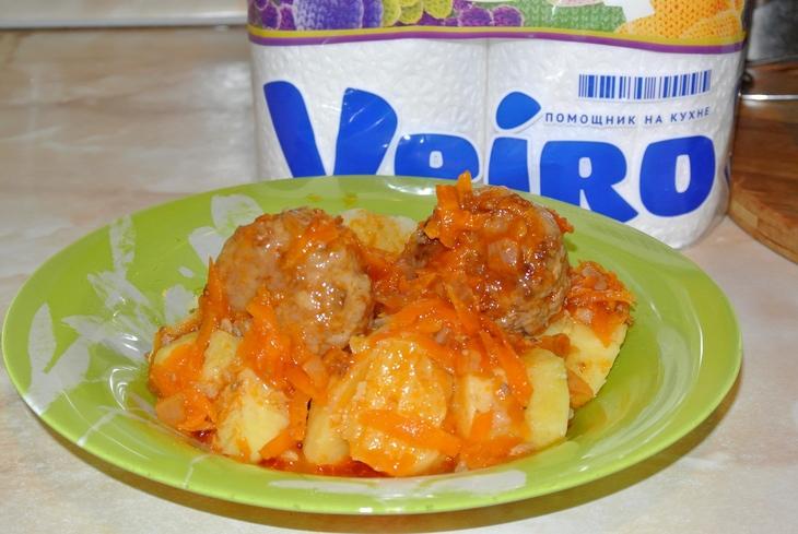 Тефтели в соусе томатном с пошаговом