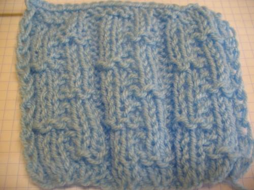 Отдельный узор для вязания