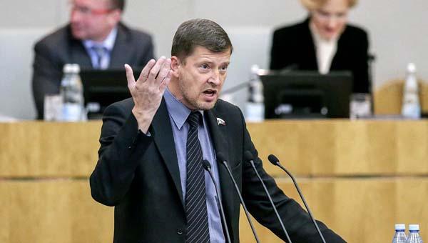 Депутат Госдумы разнес «Единую Россию».