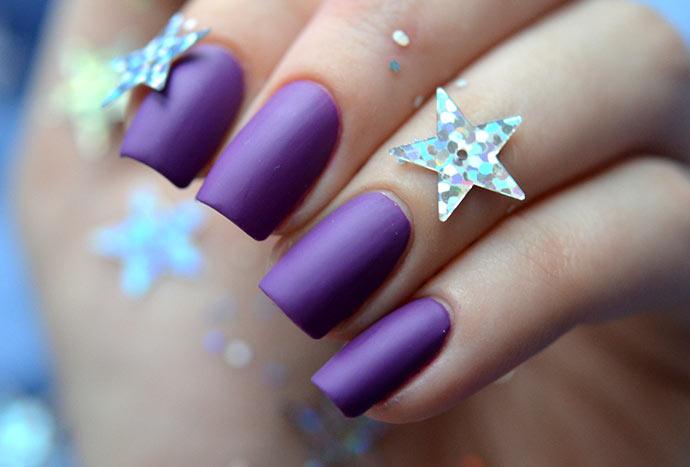 Матовые ногти: дизайн (ФОТО новинки) + видео
