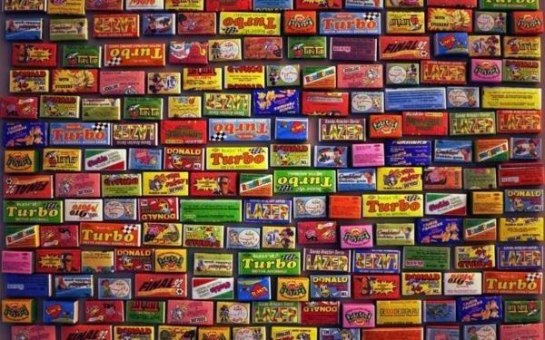 9. Несомненным хитом нашего детства является импортная жевачка (или жувачка). СССР, детство, кино, хиты