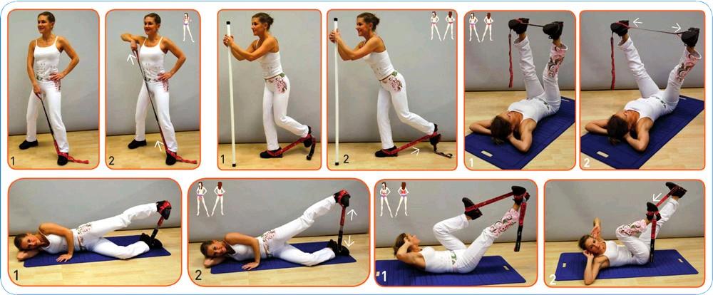 Упражнение с эспандером восьмерка для женщин в домашних условиях 271