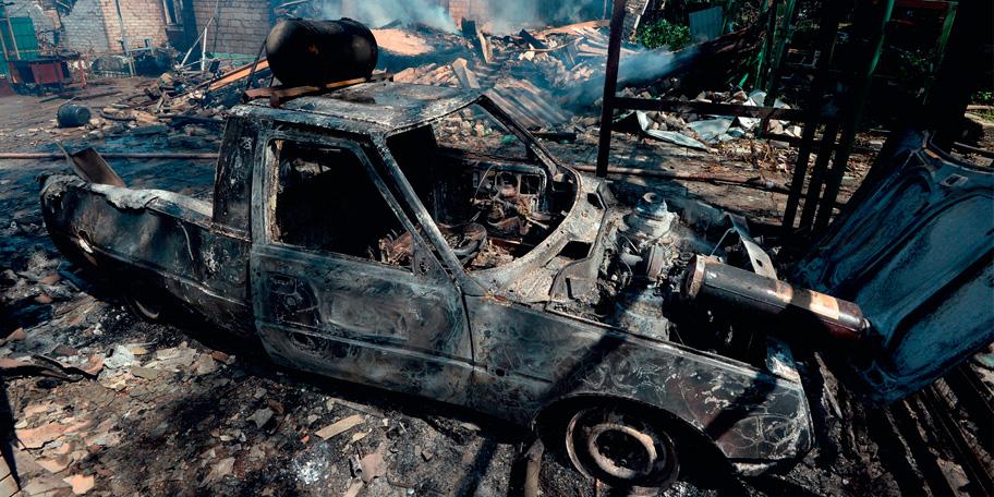 На Донбассе найдены массовые захоронения мирных жителей
