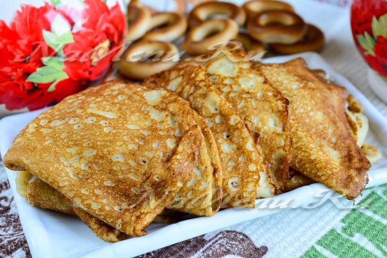 Блинчики из черствого хлеба: так вы еще не делали