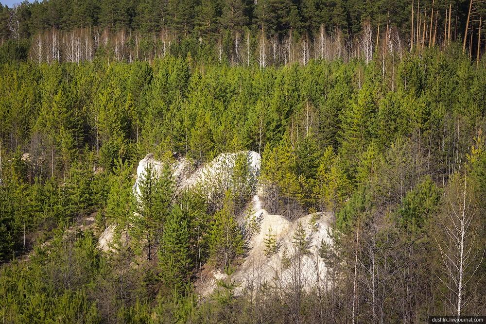 UralBali11 Бывший Кыштымский каолиновый карьер, или Уральский Бали