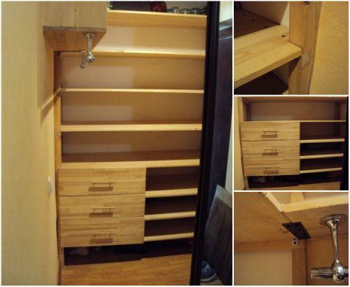 Шкаф своими руками из кладовки