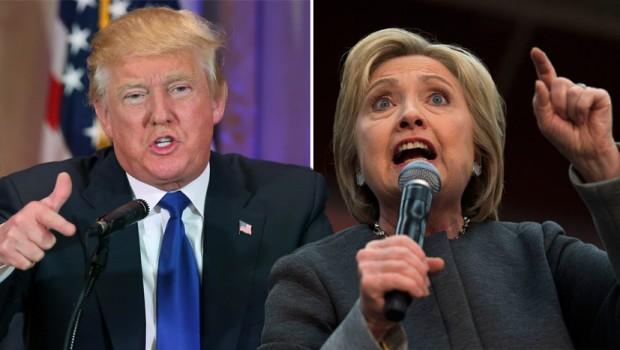 Трамп отстает отКлинтон на2% — Опрос