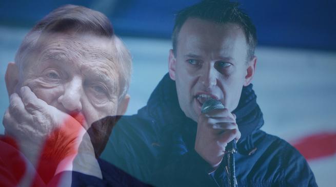 Наркотический бизнес Сороса и Навального
