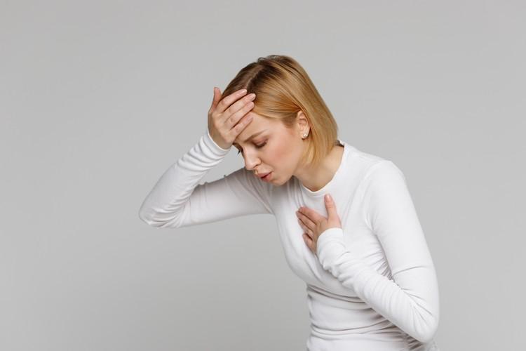 Учащенное поверхностное дыхание может быть результатом стресса.