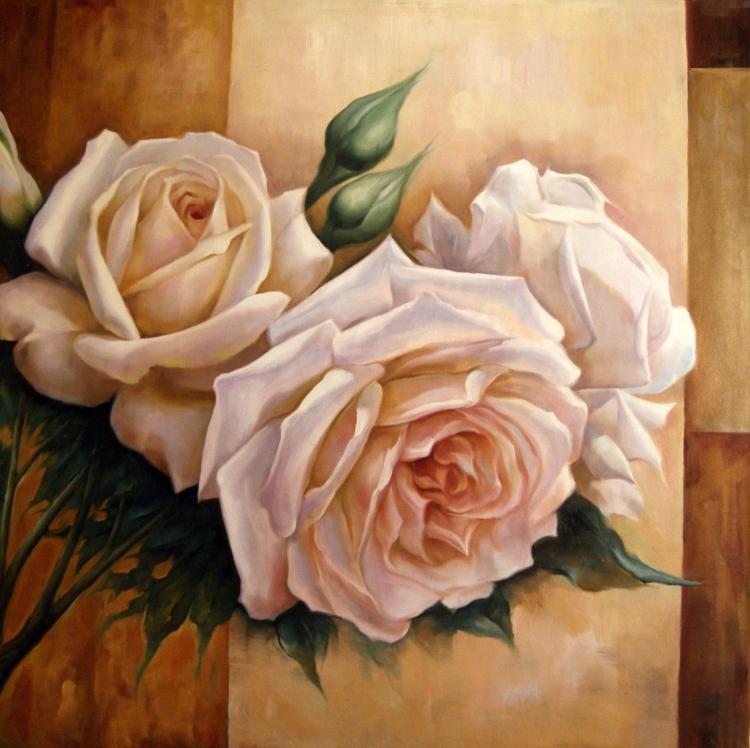 Цветочные мотивы в работах современных художников
