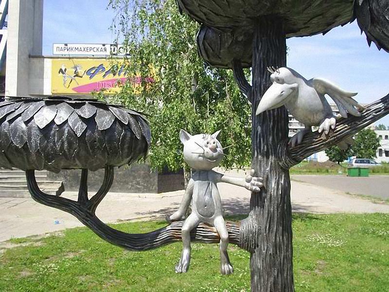 26.1 Скульптуры и памятники кошкам