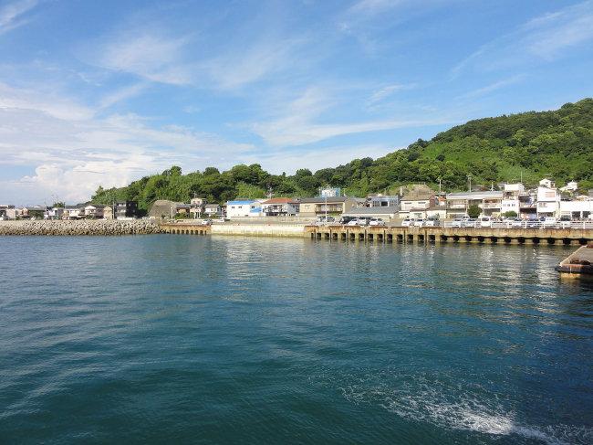 Порт Мацуямы, куда прибывали русские пленные. За сто лет почти ничего не изменилось.