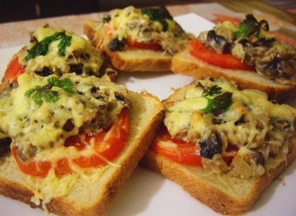 7 рецептов горячих бутербродов