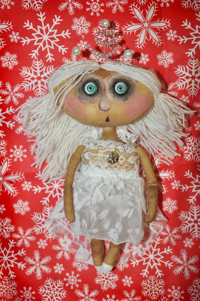 Как сшить текстильную куклу …