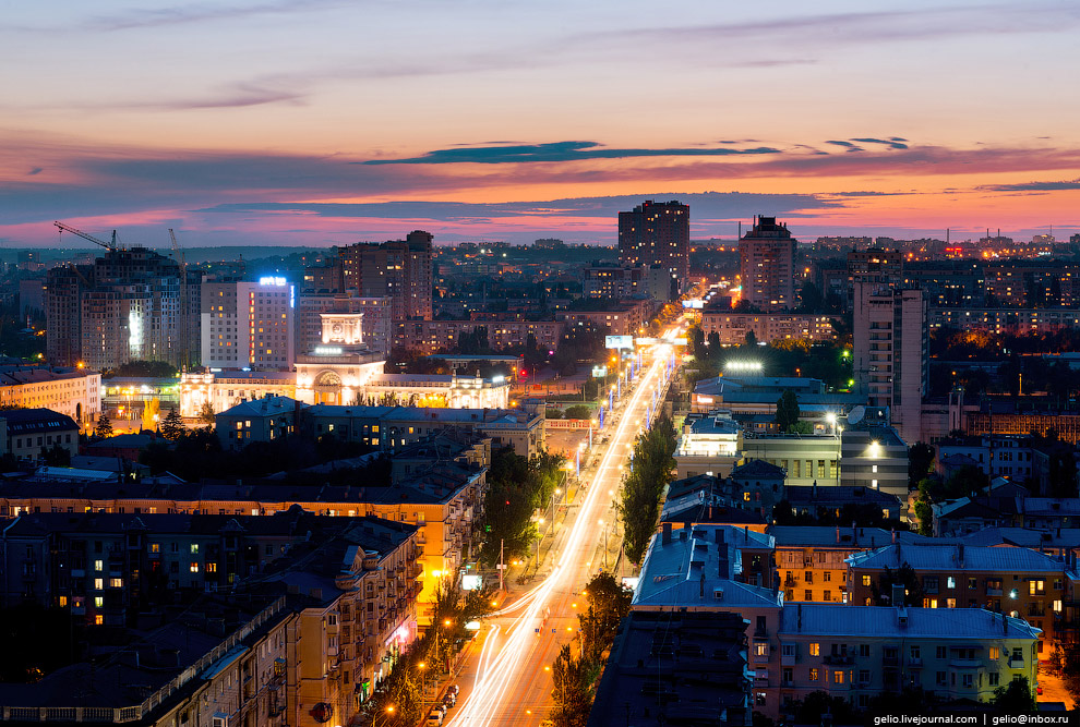 Улица Комсомольская.