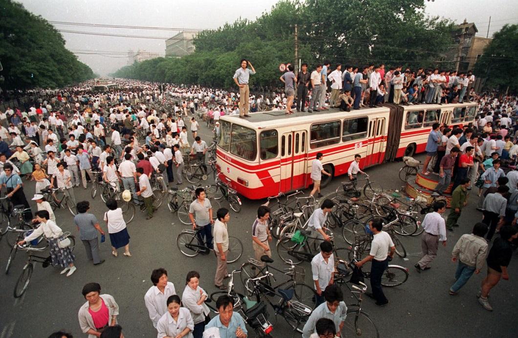 Tiananmen Square 19 Расстрел демонстрантов на площади Тяньаньмэнь 25 лет назад