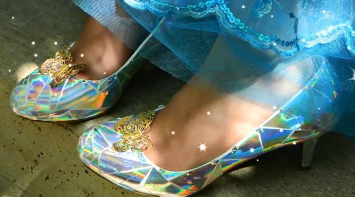 Как сделать туфельки Золушки (Diy)