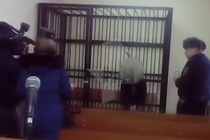 Появилось видео с зарубившим семью подростком из Тамбова