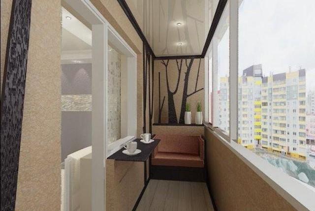 Балкон с барной стойкой фото картинки рисунки изображение.